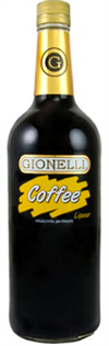 Gionelli Liqueur Coffee 1.00l - Case of 12